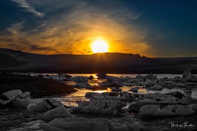 Jökulsárlón Sunset