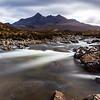 Sgurr nan Gillean viewed from Sligachan, Isle of Skye, Scotland