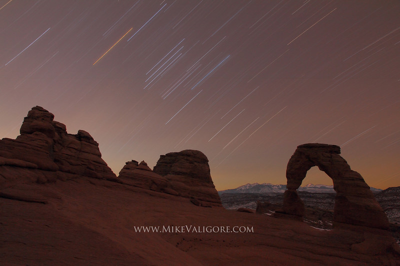 Arches Star Trails
