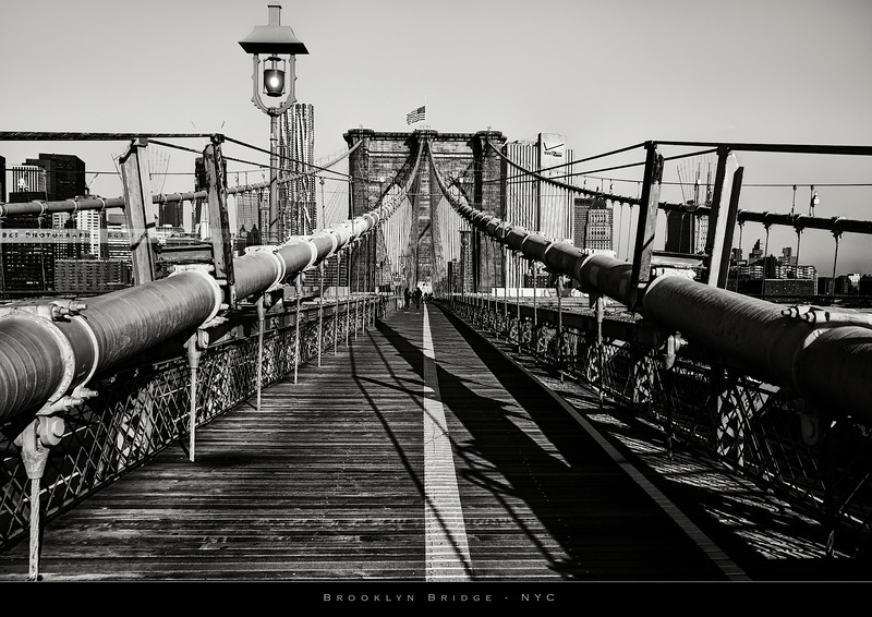 Brooklyn Bridge on the morning