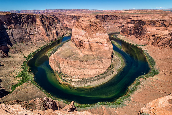 Morning at Horseshoe Bend