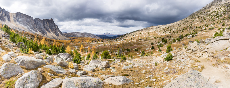 Pano from Upper Cathedral Lake