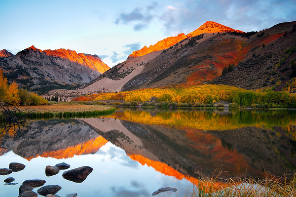 Autumn's Alpenglow