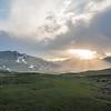 Sunset at Gittidas, Kaghan