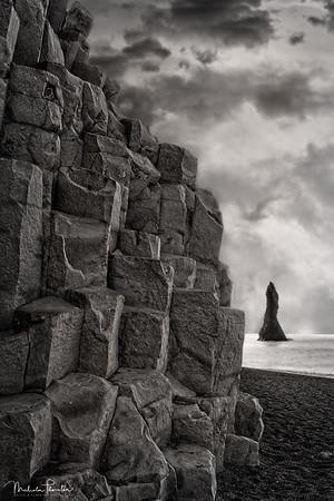 Reynisfjara Sea Stacks - Ocean View