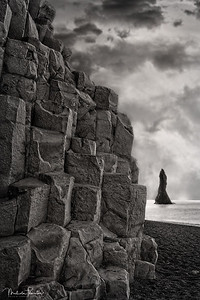 Reynisfjara Sea Stacks - Ocean View