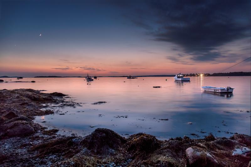 Harpswell Harbor Sunset