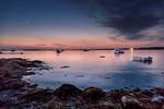 Potts Harbor Sunset