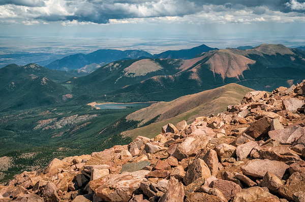 Pike's Peak, Colorado Springs, Colorado