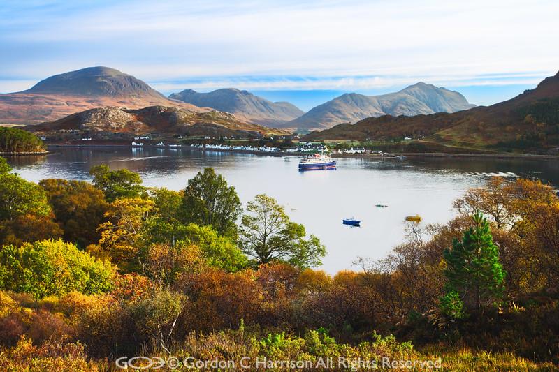 Photo 2267 Loch Shieldaig & Torridon Hills, Scotland