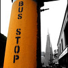 """Bus Stop In Orange"""