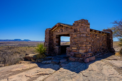 CCC Overlook Shelter - Davis Mountains State Park