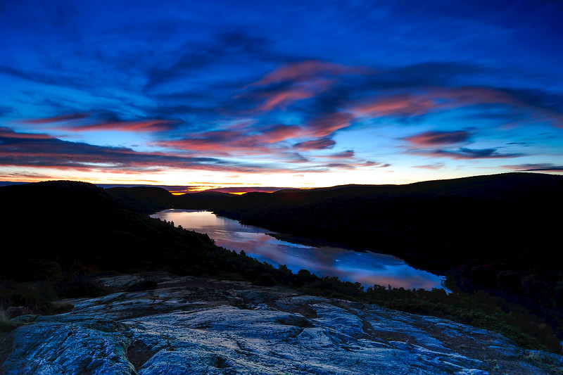 Blue Hour at Lake of the Clouds