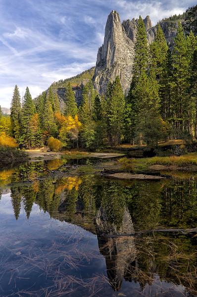 A Splash of Fall in Yosemite