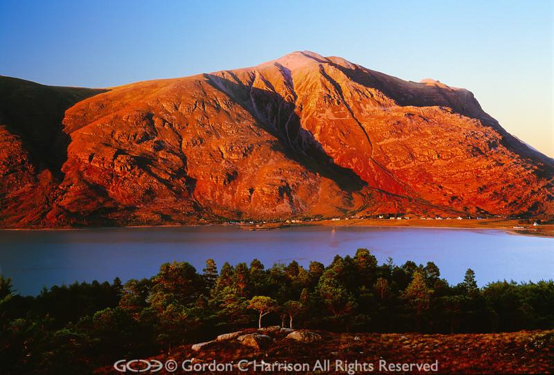 Photo 524: Loch Torridon at sunset, Wester Ross, Scotland