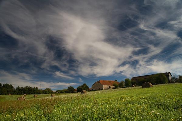 Spring, Le Sauvetat, SW France.