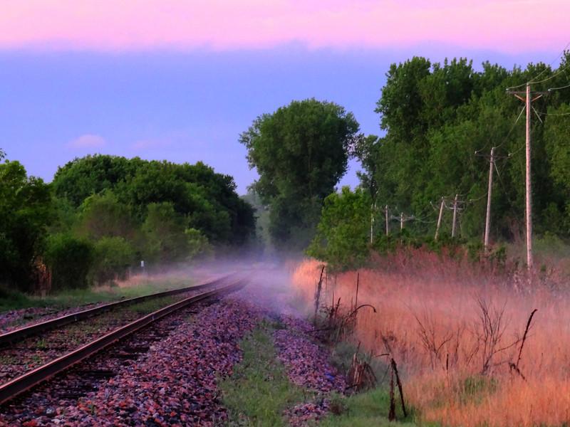 Fog on the Tracks