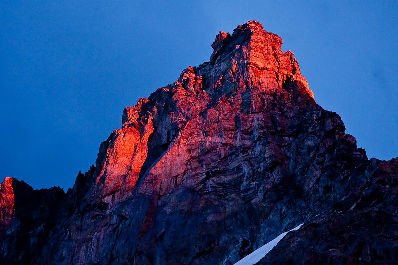 Alpenglow, Grand Teton National Park, Wyoming