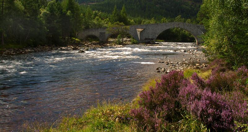 River Dee at Invercauld Aberdeenshire. John Chapman.