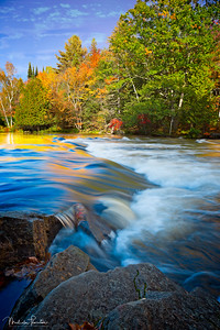 Oxtongue Rapids in Autumn