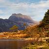 The mountain of Slioch. Loch Maree, John Chapman.