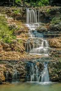 Waterfall at Dogwood Canyon
