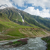 The Kunar river in Kaghan valley