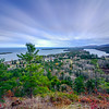 Streaking clouds over Copper Harbor 01