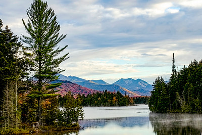 Boreas Pond and The High Peaks