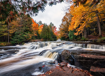 Middle Branch Onotonagon River above Bond Falls