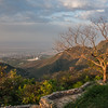 A viewpoint overlooking Faisal Mosque, Islamabad