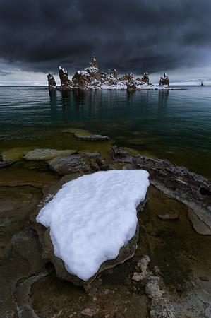 Tufa with Snow