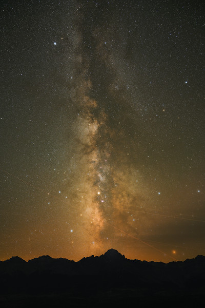 dust in the milky way