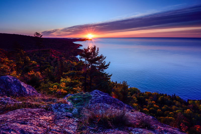 Sunrise over Bare Bluff 02