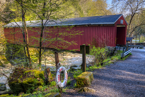McConnell Mills Covered Bridge 1