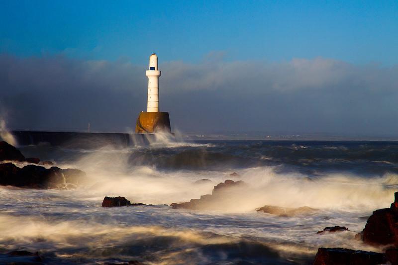 Bay of Nigg, Aberdeen. John Chapman.