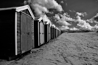 The Beach Huts ~ Croyde, Devon. 2008.