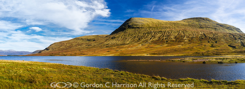 Photo 3235: Early autumn at Loch a' Bhraoin