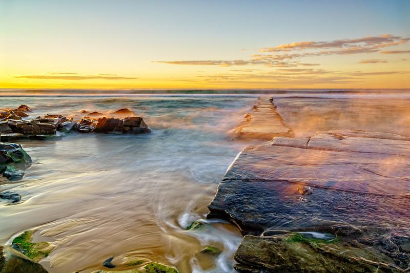 Bar Beach Sunrise