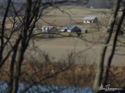 Otter Creek farm (Tilt-Shift) - Brandenburg, Kentucky