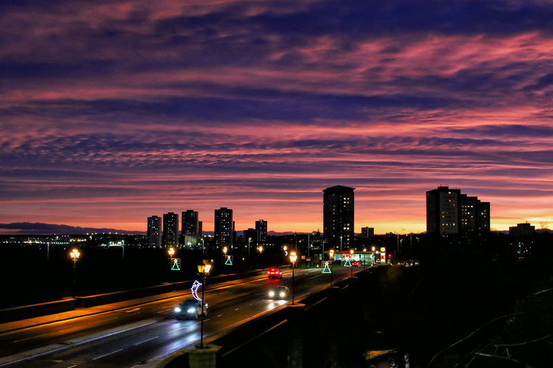 Aberdeen Night Sky