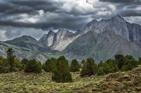 Summer Monsoon Over the Sierra