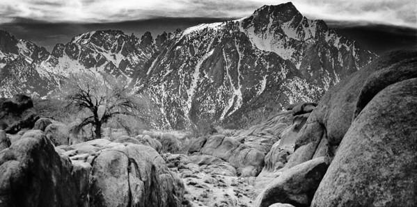 Alabama Hills Mount Whitney California