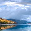 Rainbow at Bowman Lake // Montana