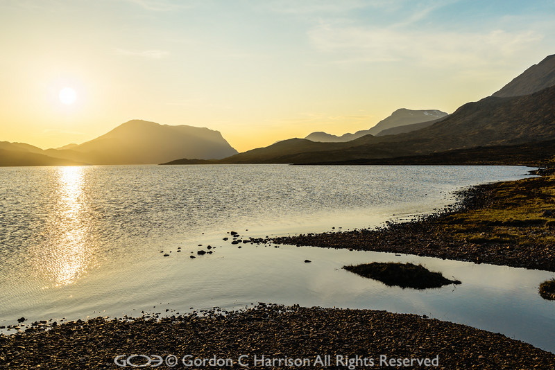 Photo 3228: Sun Down at Lochan Fada