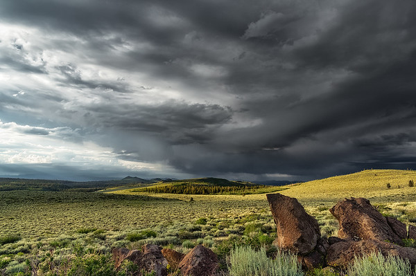 Cloudshadow on a HIgh Desert Ridge