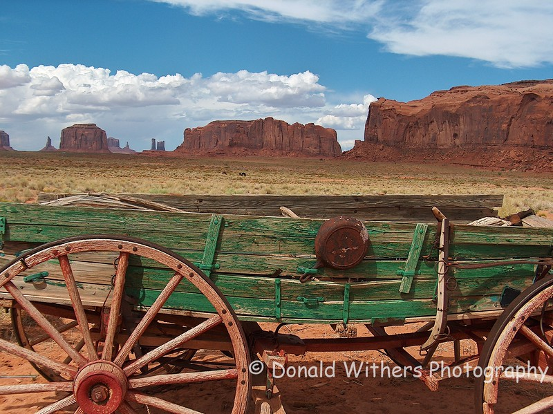 Wagon | Monument Valley