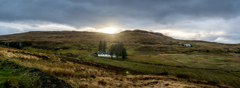 Sunset at Carbost, Isle of Skye