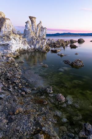Morning Glow at Mono Lake