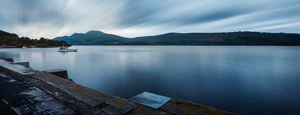 Loch Lomond at Dusk